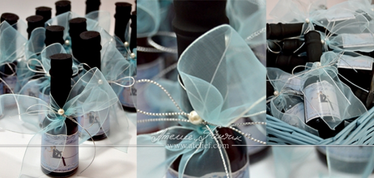 подаръчета за гости,сватбени подаръчета,бутилчици с вино,сватбено вино,персонални етикети